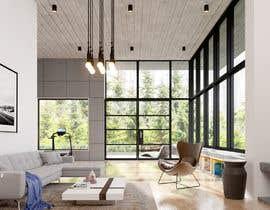 nº 33 pour Blender living room & interior 3D Design par beehive3dworks