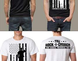 nº 22 pour Design Patriotic Tshirt Design par feramahateasril