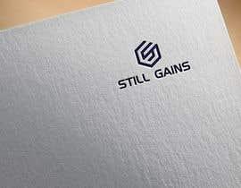 "#83 para Clean Professional Fitness Lifestyle Logo ""STILL GAINS"" por naturaldesign77"