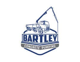 "#102 pentru Logo for ""Bartley Concrete Pumping"". Our concrete foundation business uses the Bartley Corp logo (see bartleycorp.com for more) Other pic are boom pump concrete examples. Use your creativity to perhaps combine a both pics & make it easy to read our name de către Designexpert98"