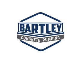 "#124 pentru Logo for ""Bartley Concrete Pumping"". Our concrete foundation business uses the Bartley Corp logo (see bartleycorp.com for more) Other pic are boom pump concrete examples. Use your creativity to perhaps combine a both pics & make it easy to read our name de către Designexpert98"