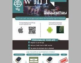 Nro 29 kilpailuun Flyer for an app download at a music festival käyttäjältä yunitasarike1