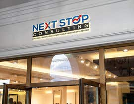 #686 for LOGO for: Next STOP Consulting by herobdx