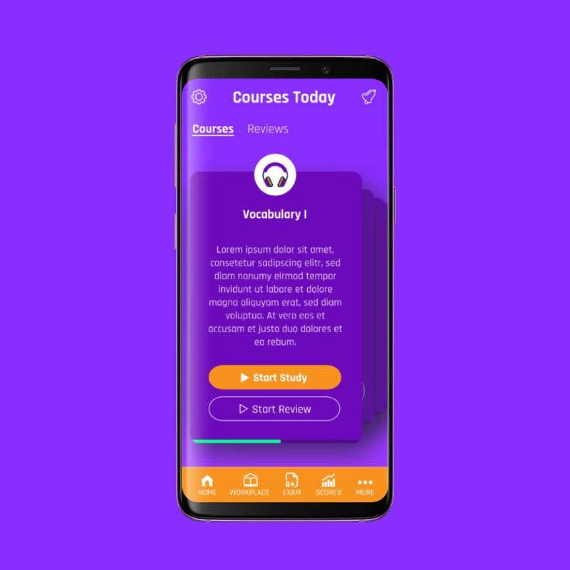 Entry #5 by frankenddev for UI Design for Android mobile app