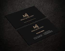 #36 untuk Design a Business Card for a Jewellery Company oleh SSarman88