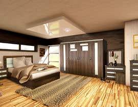 Nro 4 kilpailuun Placement of Furntiure - 1. Brighton Bedroom käyttäjältä alvarorodriguez
