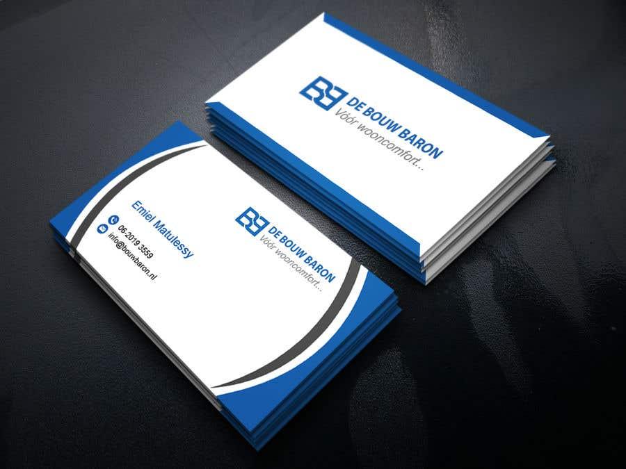 Inscrição nº 327 do Concurso para business card contractor