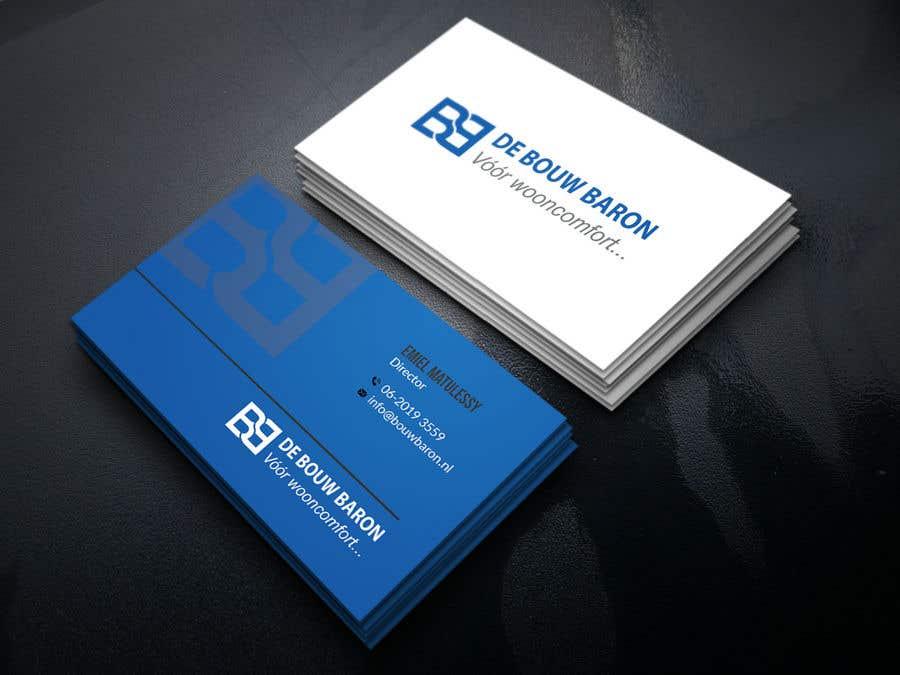 Inscrição nº 247 do Concurso para business card contractor
