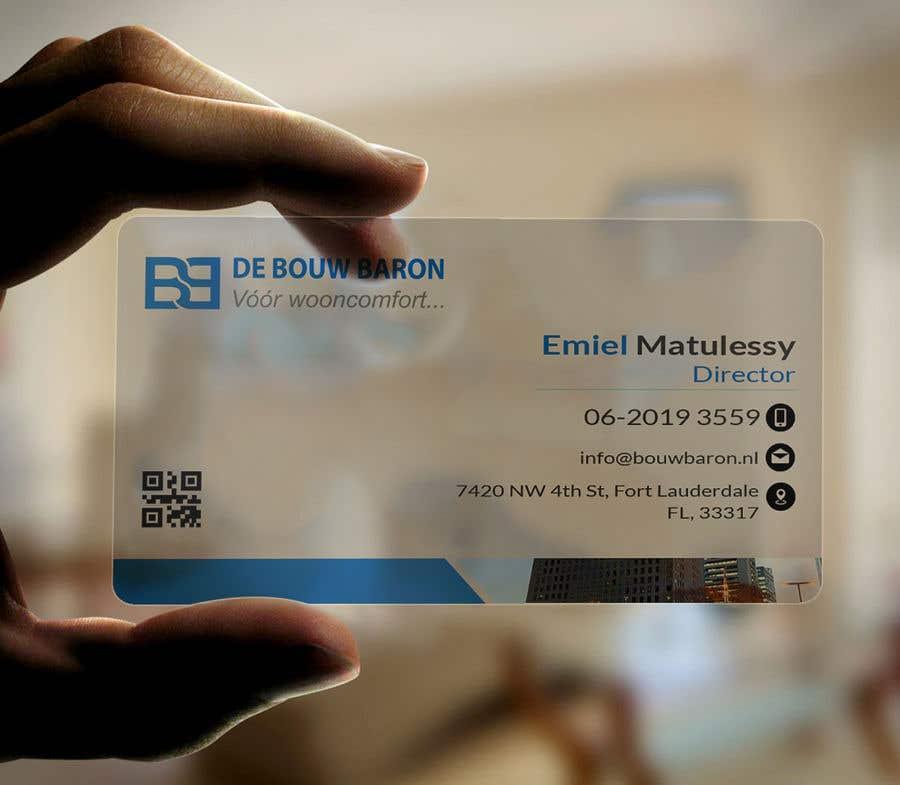 Inscrição nº 315 do Concurso para business card contractor