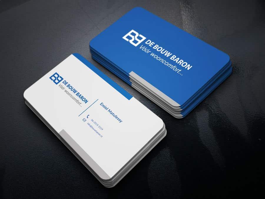 Inscrição nº 40 do Concurso para business card contractor