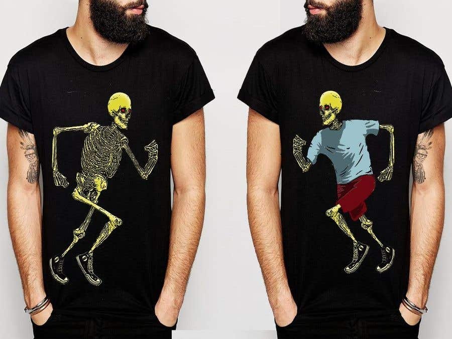 Proposition n°32 du concours SKELETON for shirts and other merch