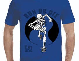 nº 20 pour SKELETON for shirts and other merch par EmePanda