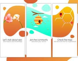 #24 pentru Illustrations for onboarding of a dating app de către CiroDavid