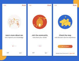 #31 pentru Illustrations for onboarding of a dating app de către sheulibd10