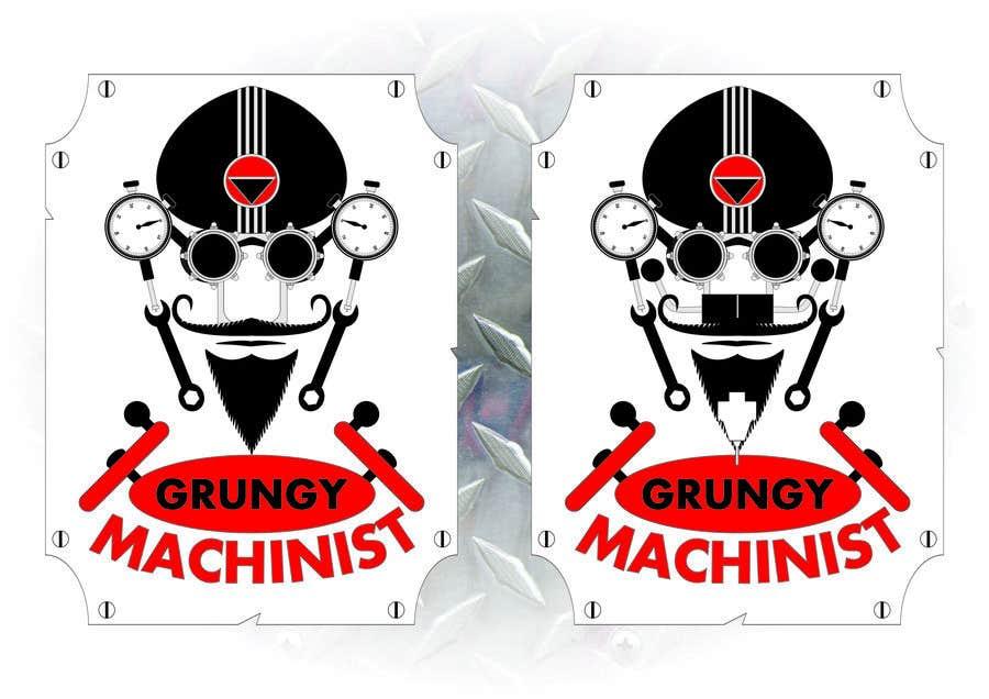 Konkurrenceindlæg #54 for Grungy Machinist Logo