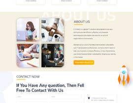 #24 для Homepage Mockup for IT Specialist от trandesign0105