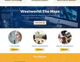 #2 для Homepage Mockup for IT Specialist от anusri1988