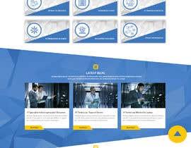 #27 для Homepage Mockup for IT Specialist от GalaxyDesigns