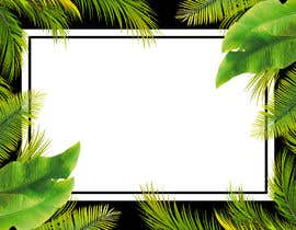 #71 para Design a palm tree/banana leaf pattern I can use for my product por designbymone