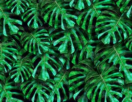 #40 para Design a palm tree/banana leaf pattern I can use for my product por SciArtDesign