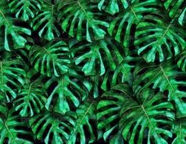 Nro 40 kilpailuun Design a palm tree/banana leaf pattern I can use for my product käyttäjältä SciArtDesign