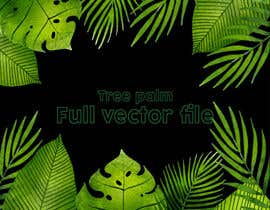 #15 para Design a palm tree/banana leaf pattern I can use for my product por MdFerozsorder