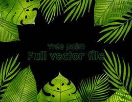 Nro 15 kilpailuun Design a palm tree/banana leaf pattern I can use for my product käyttäjältä MdFerozsorder