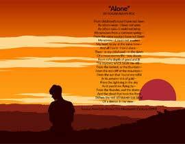 """Nro 93 kilpailuun Edgar Allan Poe's """"Alone"""" käyttäjältä alfasatrya"""