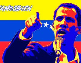mikelpro tarafından Create iconic Obama's Hope design on President Guaido için no 23