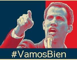 simran993 tarafından Create iconic Obama's Hope design on President Guaido için no 9