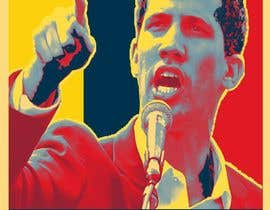 simran993 tarafından Create iconic Obama's Hope design on President Guaido için no 13
