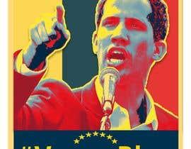 simran993 tarafından Create iconic Obama's Hope design on President Guaido için no 17