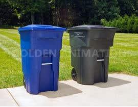 Nro 112 kilpailuun Trash Can GIF käyttäjältä GoldenAnimations