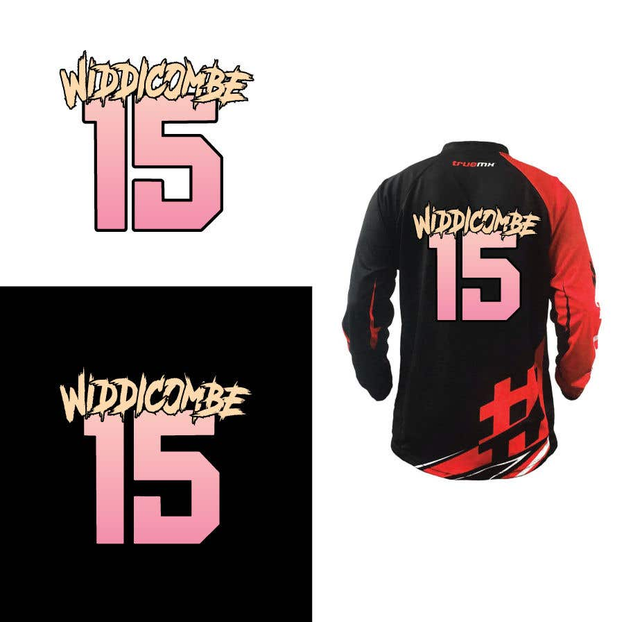 Inscrição nº 12 do Concurso para I need Widdicombe on the top like this and 15 below same colors as pictures
