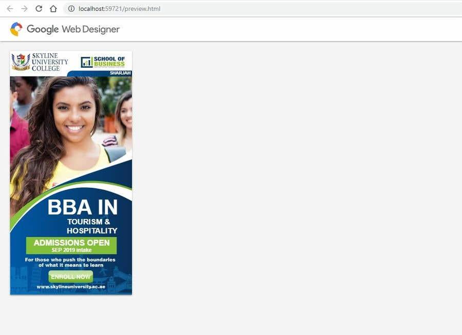 Entry 36 By Designerniraj For Google Web Designer Html5 Ad Banner Freelancer