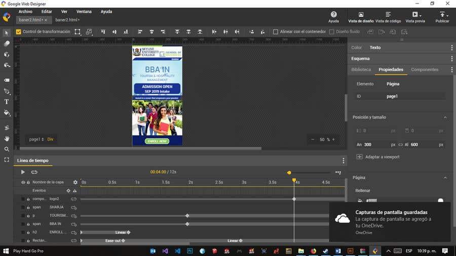 Entry 21 By Agodoy14 For Google Web Designer Html5 Ad Banner Freelancer