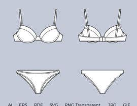 #2 cho Vectorize underwear with design on it. bởi bluebd99