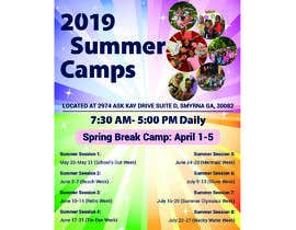 #66 for Summer Camp Flyer by apurba997
