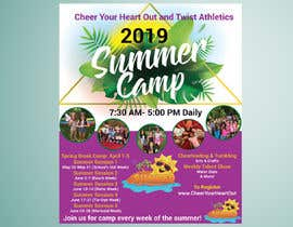 #49 for Summer Camp Flyer by ritugd88