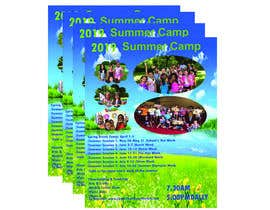 #68 for Summer Camp Flyer by sharminakhi