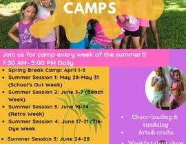 #45 for Summer Camp Flyer by Lindashal