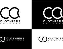 #5 for Clothiers Arsenal logo design af bluebd99