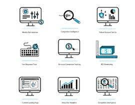 awais7322 tarafından Design 8 Modern and Simple Icons for Our New Website için no 25