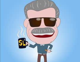 nº 10 pour Illustration of Stan Lee in Adobe Illustrator par juliantoK