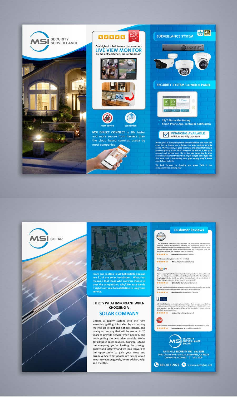 Entry #56 by sujithnlrmail for Redo a sales flyer - 07/03