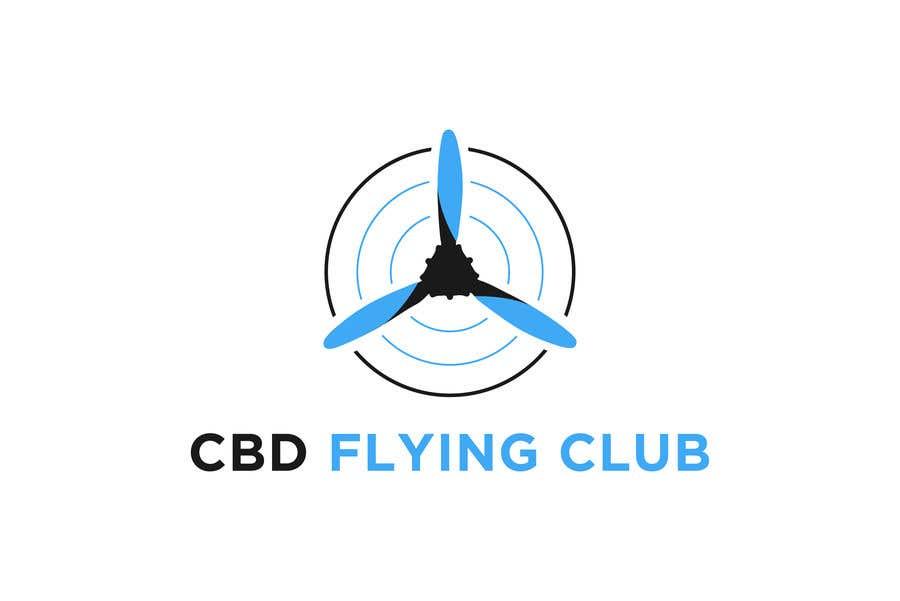 Kilpailutyö #72 kilpailussa Logo for a Flying Club