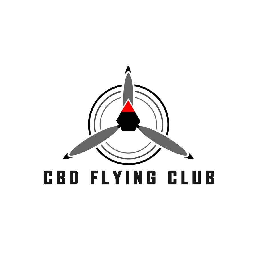 Kilpailutyö #71 kilpailussa Logo for a Flying Club