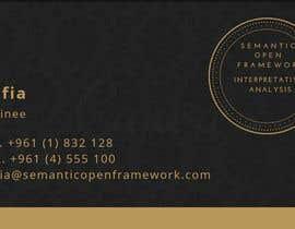 #10 for realizzazione biglietto da visita job card by efeman24