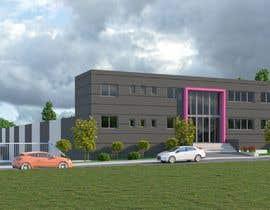 #23 para Realistic exterior renderings for an industry building de ShaffuAV