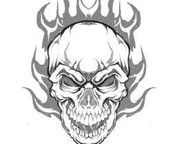 #73 for Illustrate a Skull Head by Isodexxx